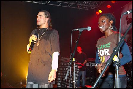 djanta live reggae music french somethin for da streetz
