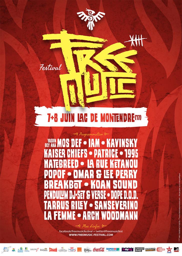 Festival Freemusic 2013 à Montendre