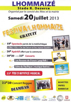 festival lhommaizé avec Diambar