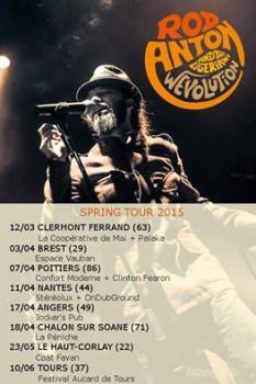 rod anton and the ligerians concert live tour 2015