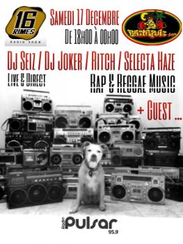 Spéciale Reggae / Hip Hop - Rastapuls / 16Rimes