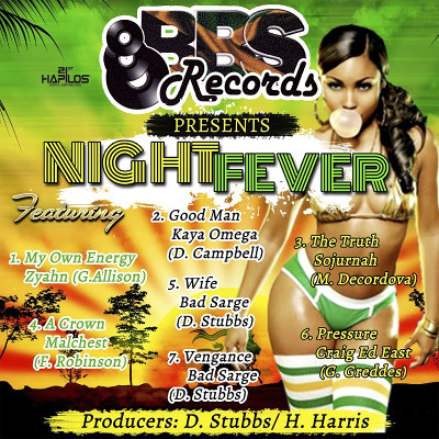 Night Fever Riddim - BBS Records - 2017